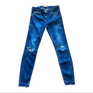 Zara Woman Premium Denim Collection Skinny Jeans 8